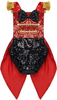 Baby Girls Performance Uniform Ringmaster Costume Birthday Party Suit Circus Romper Clothes Outfit