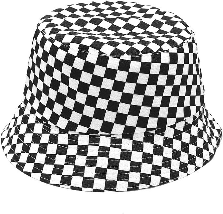 Tie Dye Bucket Hat Reversible Cotton Multicolored Fisherman Cap Packable Sun Hat