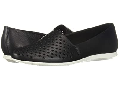 ECCO Touch Perf Ballerina 2.0 (Black) Women