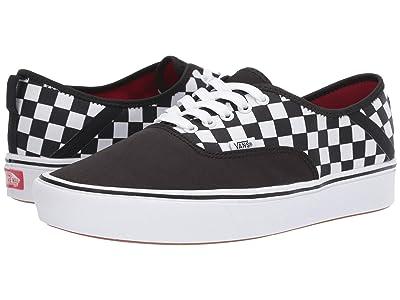 Vans ComfyCush Authentic SF ((2 Tone) Black/Checkerboard) Skate Shoes