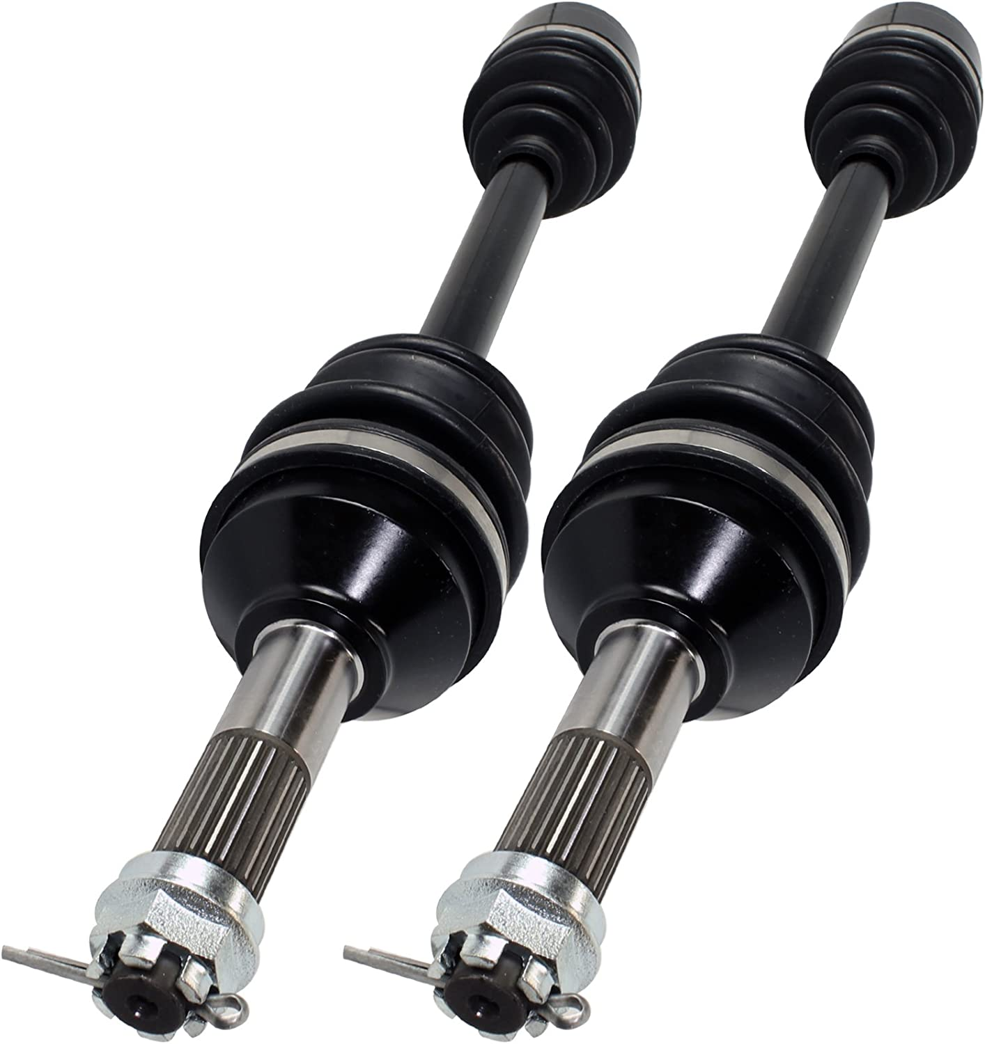 Caltric Rear Seattle Mall Right Spasm price And Left Complete Compatible w Cv Axles Joint