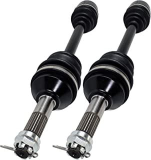 Caltric REAR RIGHT and LEFT COMPLETE CV JOINT AXLES Fits KAWASAKI BRUTE FORCE 750 KVF750 4X4i EPS 2012-2017