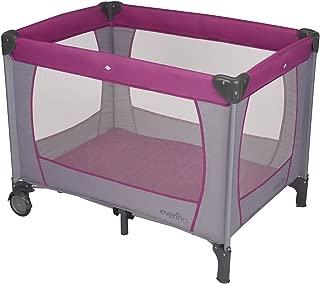 Evenflo Portable BabySuite Classic, Purple Orchid