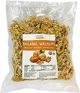 Beyond Nature, [Vacuum Sealed] Organic Raw Walnuts, NO Salt, Keto Friendly, Low Carb Keto Snack, California Grown, 2 LB (3...