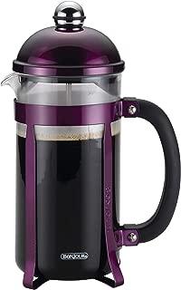 BonJour 51281 8-Cup Maximus Borosilicate Glass French Press, Purple