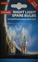 Eveready 10 x Eveready 7 W nachtlampje pygmy lamp (E12) schroef grip -