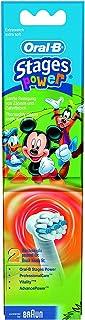 Braun Oral-B - Cabeza de Repuesto del Ratón Mickey para