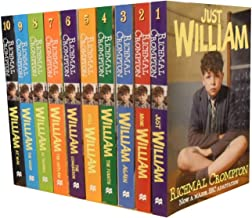Just William by Richmal Crompton Collection Set: (Titles Contain Just William, More William, William Again, William the Fourth, Still William, William ... in Trouble, William the Good, William)