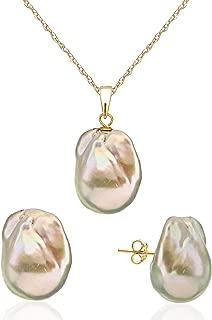 Best baroque freshwater pearl earrings Reviews