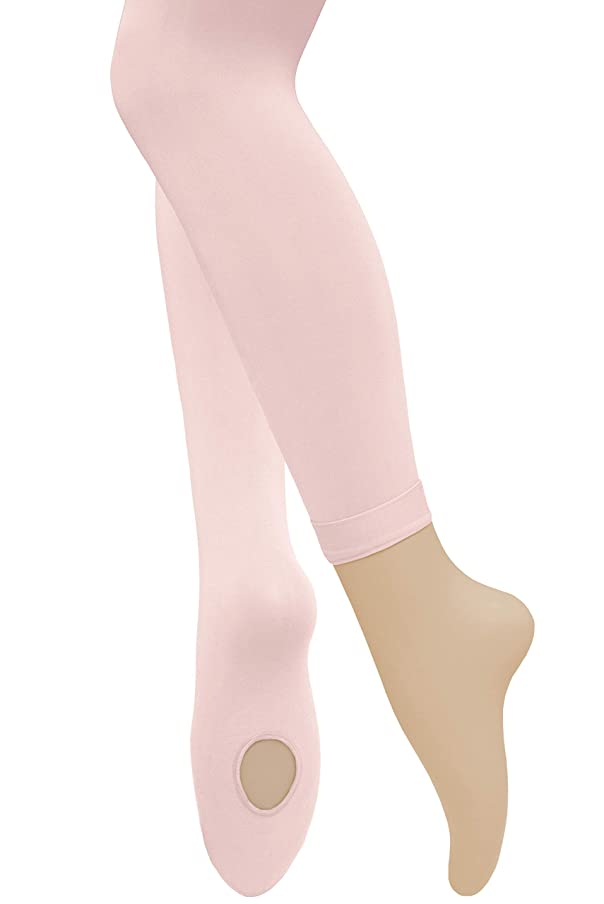 Dancina Dance Ballet Tights for Girls - Women | Ultra-Soft Convertible Transition Tights