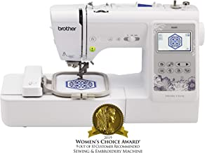Brother Sewing Machine, SE600, Computerized Sewing and Embroidery Machine with 4