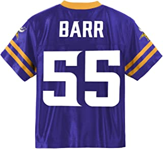 Outerstuff Anthony Barr Minnesota Vikings #55 Purple Youth Home Player Jersey