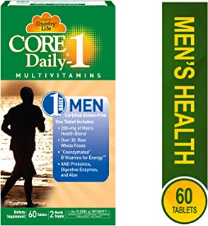 Country Life Core Daily 1 for Men Tablets, 60 Count