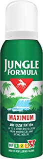 Jungle Formula Maximum Insect Repellent Spray with DEET, 125