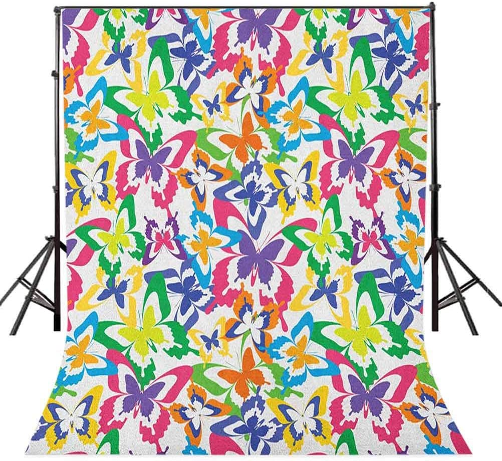 8x12 FT Vinyl Photography Background Backdrops,Pattern with Squares Hand Drawn Style Figures with Different Texture Patterns Background for Child Baby Shower Photo Studio Prop Photobooth Photoshoot
