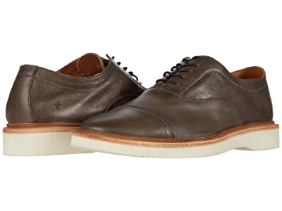Frye Paul Weekend Bal Oxford (Charcoal Sun-Washed Leather) Men