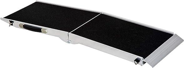 Pawhut Rampa Aluminio Plegable Rampa para Perro Mascota Rampa para ...