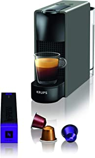 Krups Nespresso XN110B Krups Essenza Mini - Cafetera monodosis de cápsulas Nespresso, compacta, 19 bares, apagado automáti...