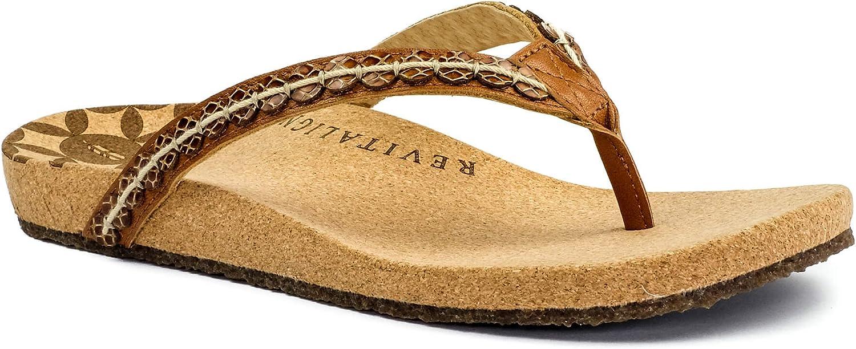 REVITALINGN Kvinnors Kena Kena Kena Flip Flop Sandal  fantastiska färgvägar