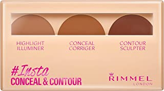 Rimmel London, Insta Conceal & Contour Palette, Shade 030, Dark