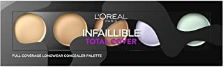 L'Oréal Paris Infalible Total Cover, Paleta Correctora, Tono 01 Clara