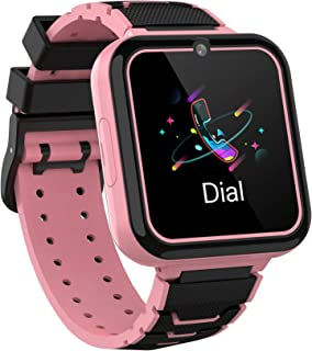 comprar comparacion Smooce Smartwatch para Niños, Reloj Inteligente Niños Teléfono con 1.54 Pulgadas Pantalla Táctil, MP3 Música,Llamada SOS, ...
