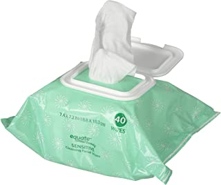 Best equate sensitive facial wipes Reviews