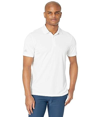 adidas Golf Performance Primegreen Polo Shirt (White) Men