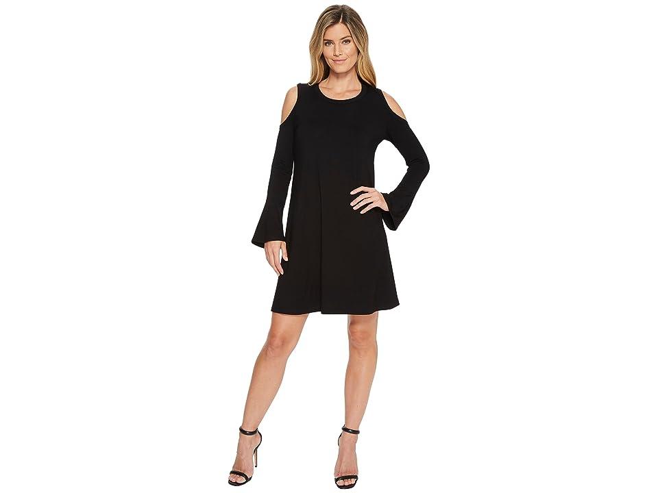 Karen Kane Cold Shoulder Dress (Black) Women