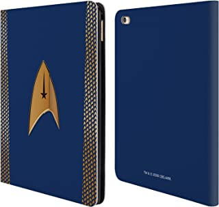 Official Star Trek Discovery Command Uniforms Leather Book Wallet Case Cover Compatible for iPad Air 2 (2014)
