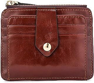 Unisex Card Wallet Pu Leather Coin Pocket Women Card Organizer Men Purse Money Bag