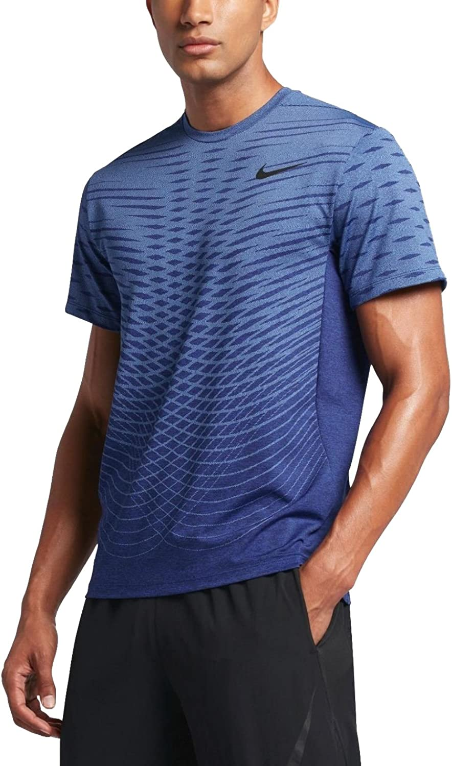 Nike Ultimate Dry SsShort-sleeve Top for men, Colour bluee, size 2XL