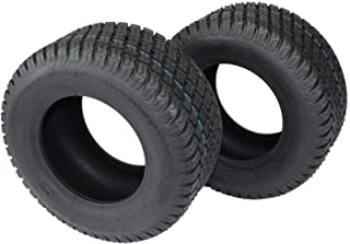 Antego Set of 2-16X6.50-8 4 Ply Turf Tires for Lawn & Garden Mower 16x6.5-8