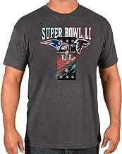 Majestic Atlanta Falcons vs New England Patriots NFL Super Bowl 51 Ticket S/S T-Shirt