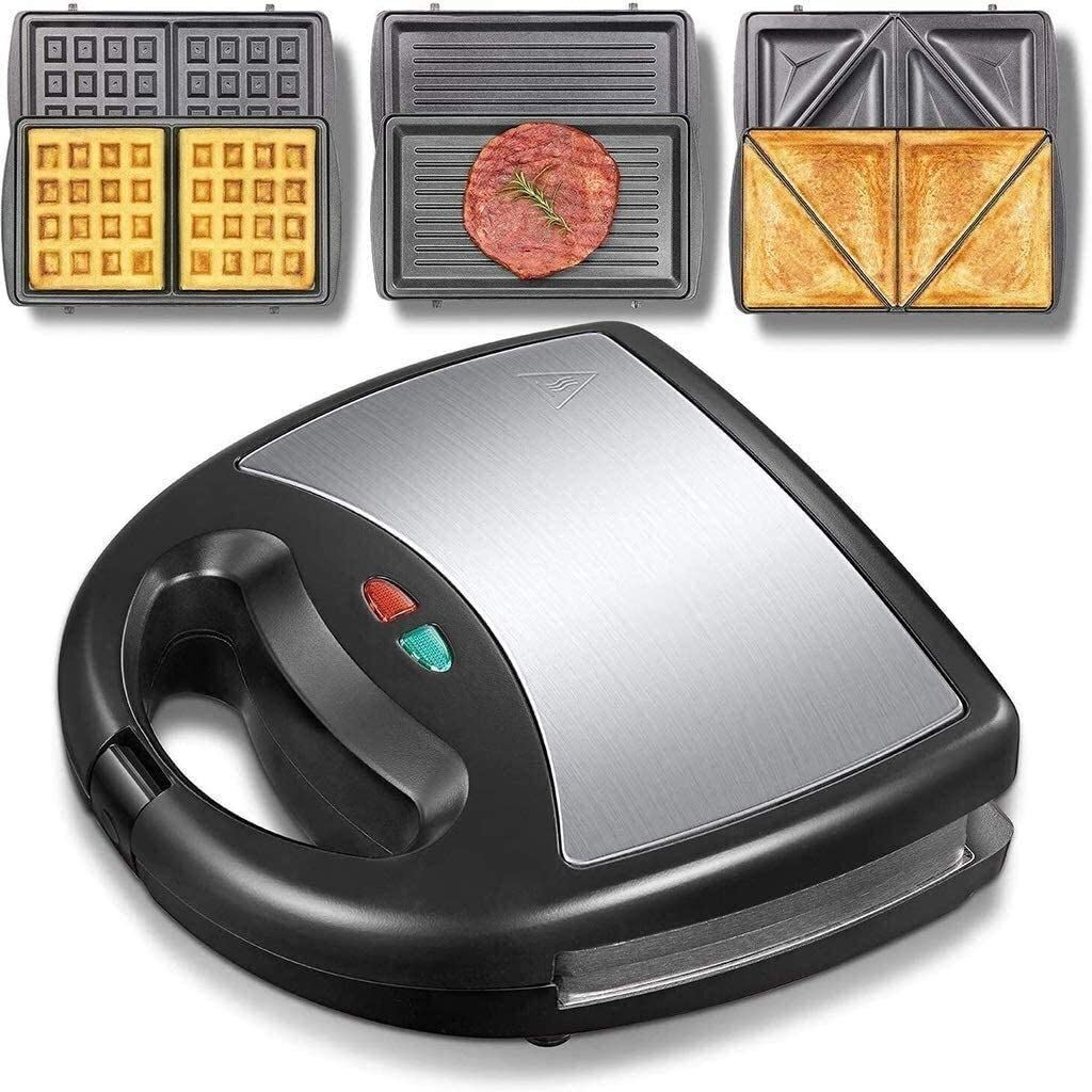 Toaster Waffle Excellence Irons 3-in-1 Limited Special Price Panini Sandwich Maker