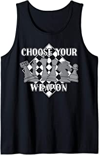Chess Piece Game Strategy Gift for a Chess Player Tank Top