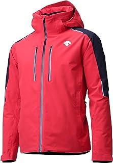 DESCENTE Challenger Ski Jacket - Men`s - Electric Red/Black (85)