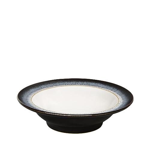 Denby Halo Wide Rimmed Soup Cereal Bowl, Set of 4