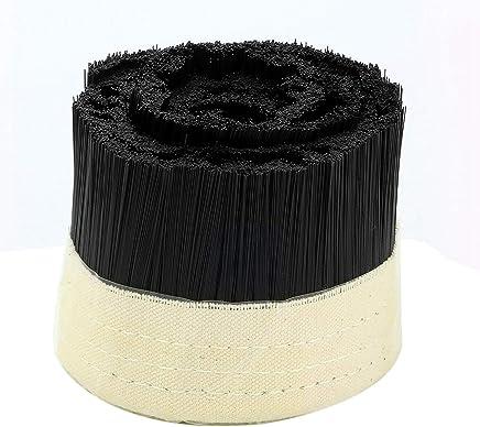 Nrpfell Di/ámetro de 80mm Cepillo de La Cubierta de Polvo del Colector de Polvo Para Cnc Herramientas de Enrutador de M/áquina de Fresado del Motor del Husillo