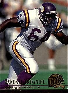 1994 Fleer Ultra Football Card #186 Randall McDaniel