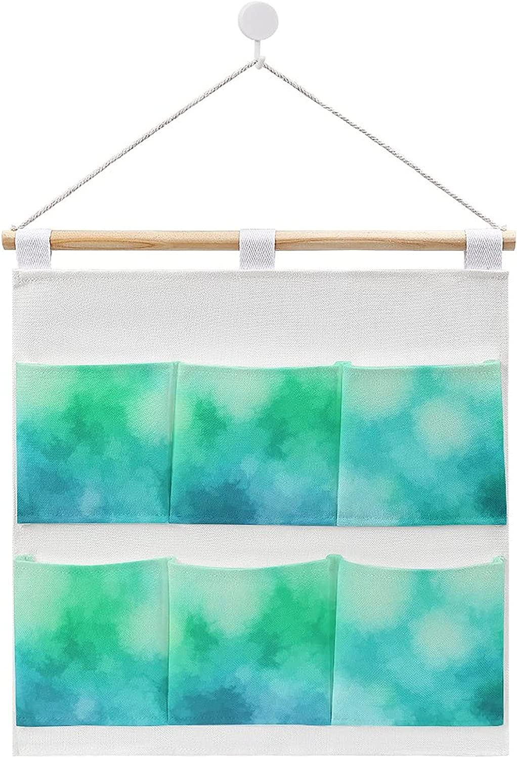 Design Indianapolis Mall Colorful Abstract Texture Hanging and linen Mail order storag cotton