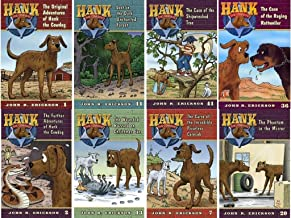 Hank the Cowdog (Set of 8) Adventures; Curse; Lost; Buzzard; Phantom; Rottweiler...