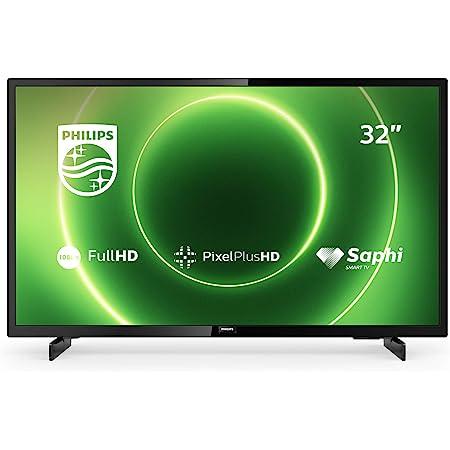 Philips Tv 32pfs6805 12 32 Zoll Fernseher Full Hd Led Tv Pixel Plus Hd Hdr 10 Saphi Smart Tv Full Range Lautsprecher 3 X Hdmi 2 X Usb Ideal Für Gaming Schwarz Glänzend Modelljahr 2020