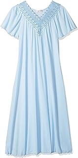 Shadowline Women's Beloved 53 Inch Flutter Sleeve Long Gown