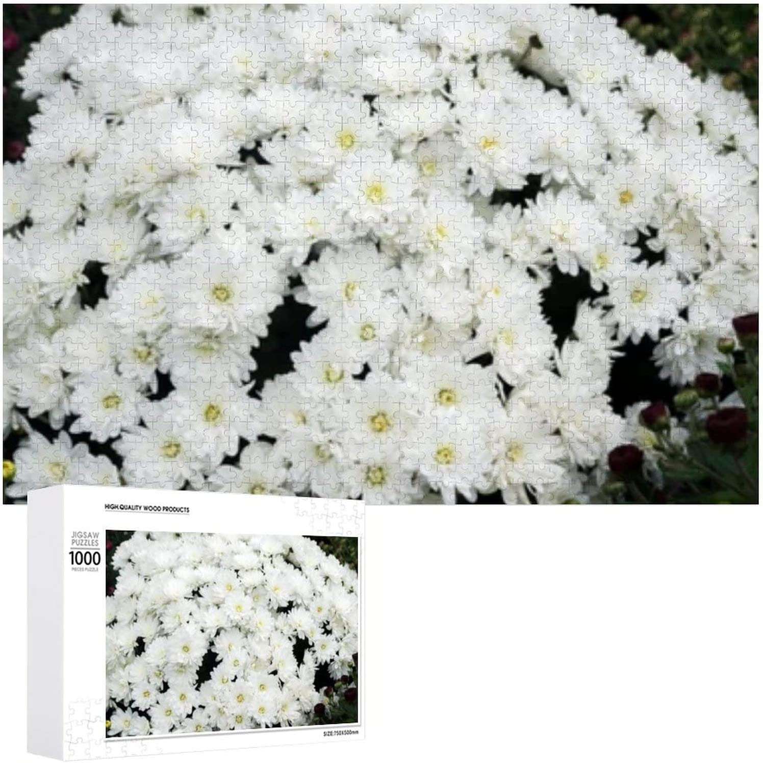 Beautiful Chrysanthemums Flower Show - Jigsaw A Puzzles for Free shipping New Weekly update 1000