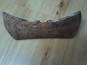 Handmade Birchbark indian canoe USA MADE