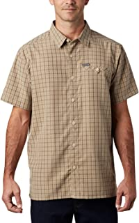 Columbia Declination Trail II Camisa de Manga Corta para Hombre, a Cuadros, 1 Unidad