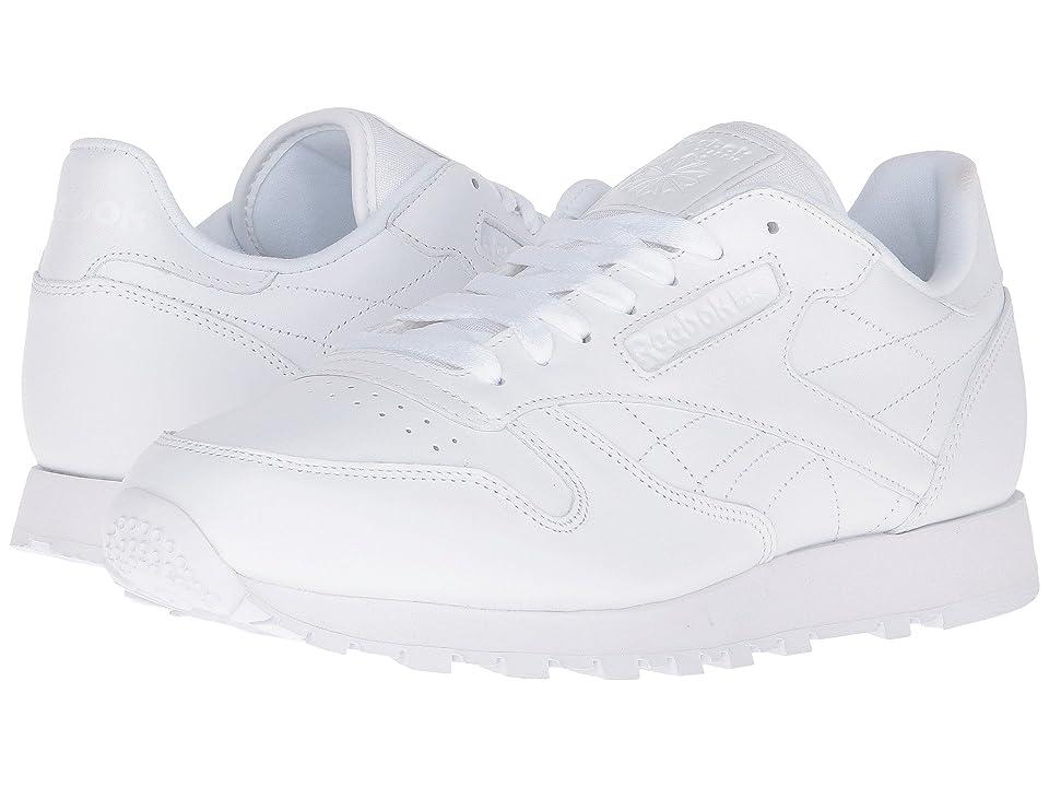 Reebok Lifestyle Classic Leather CTM (White/White/White) Men