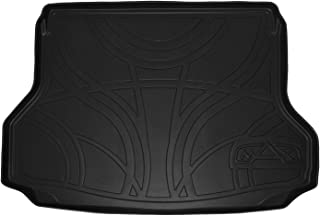 MAXLINER All Weather Cargo Liner Floor Mat Black for 2014-2018 Nissan Rogue without 3rd Row Seats (No Rogue Sport or Hybrid Models)