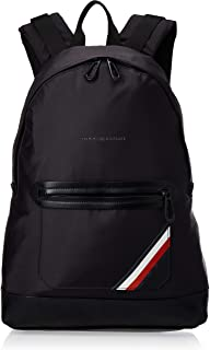 Easy Nylon Backpack, Mochilas Hombre, Negro (Tommy Navy/ Core Stp), 13x48x34 cm (B x H T)
